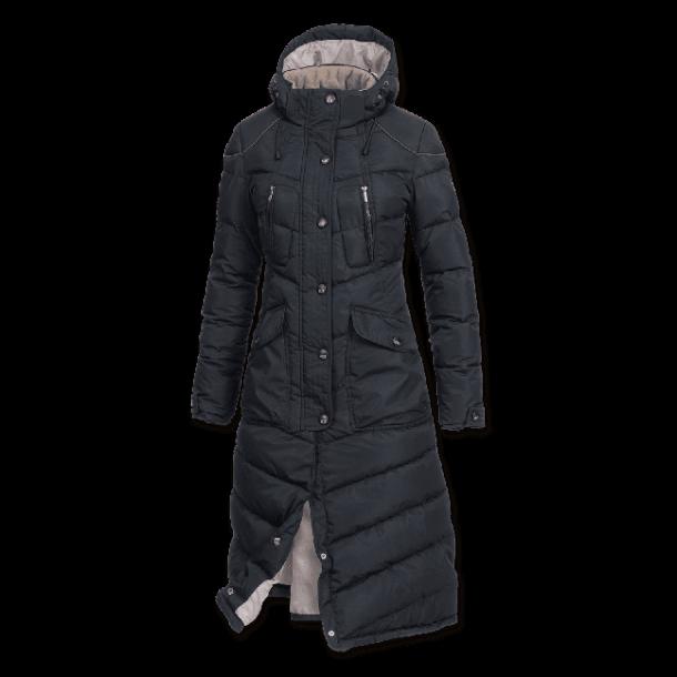 1bd8be06 Waldhausen ELT Saphira Ridefrakke i sort - køb den her!