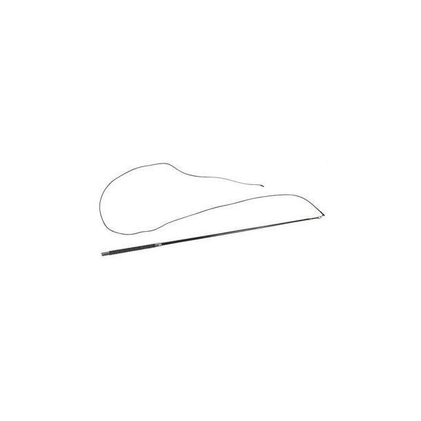 Longepisk med læderhåndtag