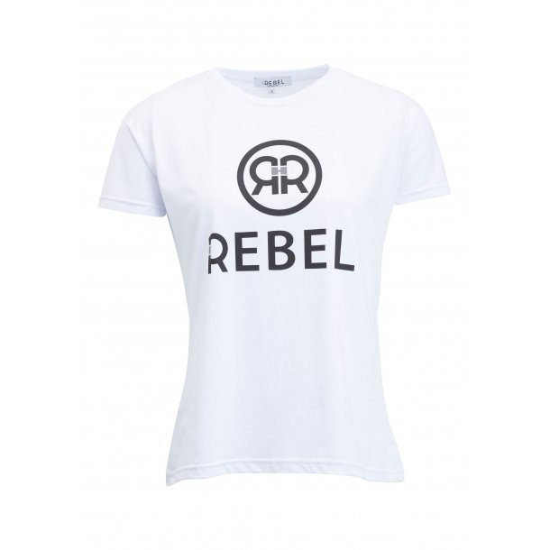Rebel Zoey - t-shirt, hvid