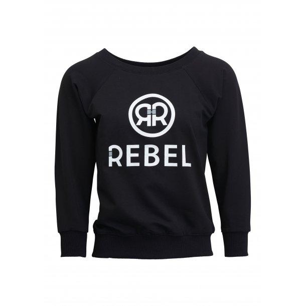 Rebel Stella - sweat-shirt, sort